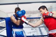Photo Sparring training — fitness club 5 element