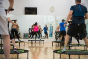 Photo Group trainings — fitness club 5 element