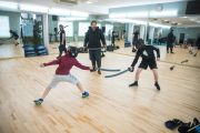 Фото Хортинг фехтование в Киеве — фитнес-клуб 5 элемент