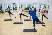 Photo Степ-аэробика — fitness club 5 element