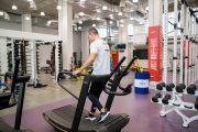 Фото Біг і ходьба в тренажерному залі — фітнес-клуб 5 елемент