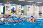 Photo Swimming for adults — fitness club 5 element