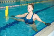 Photo Swimming for the pregnant — fitness club 5 element