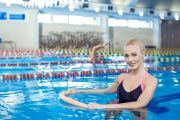 Photo Water aerobics — fitness club 5 element