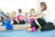 Photo Rhythmic Gymnastics School   — fitness club 5 element
