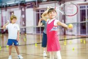 Большой теннис для детей в Киеве — элитный семейный Фитнес-центр 5 Элемент