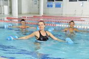 Photo Aqua Aerobics for the Pregnant — fitness club 5 element