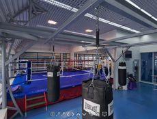 Зал единоборств и боксерский ринг