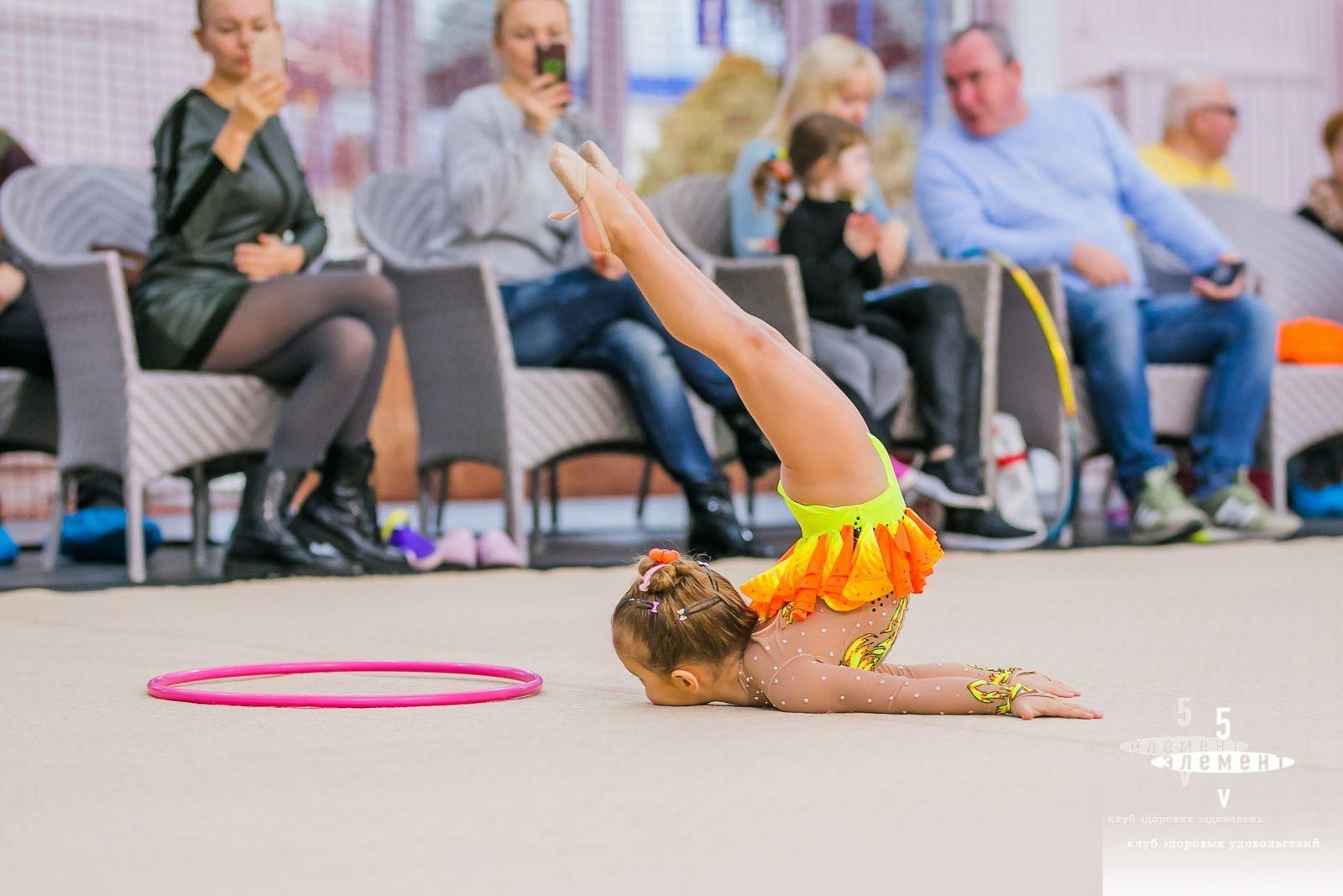 Открытый чемпионат по художественной гимнастике— элитный семейный Фитнес-центр 5 Элемент