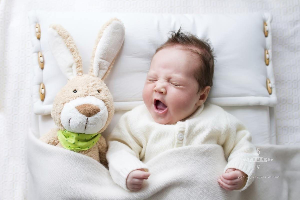 Как выспаться с малышом— фитнес-клуб 5 элемент