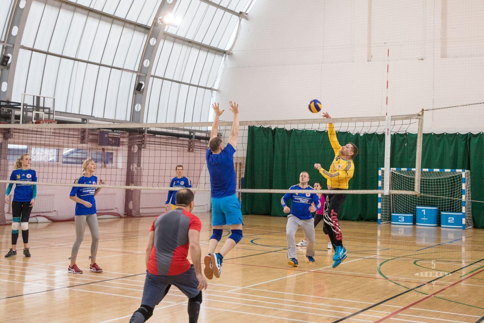 Чемпионат клуба по волейболу