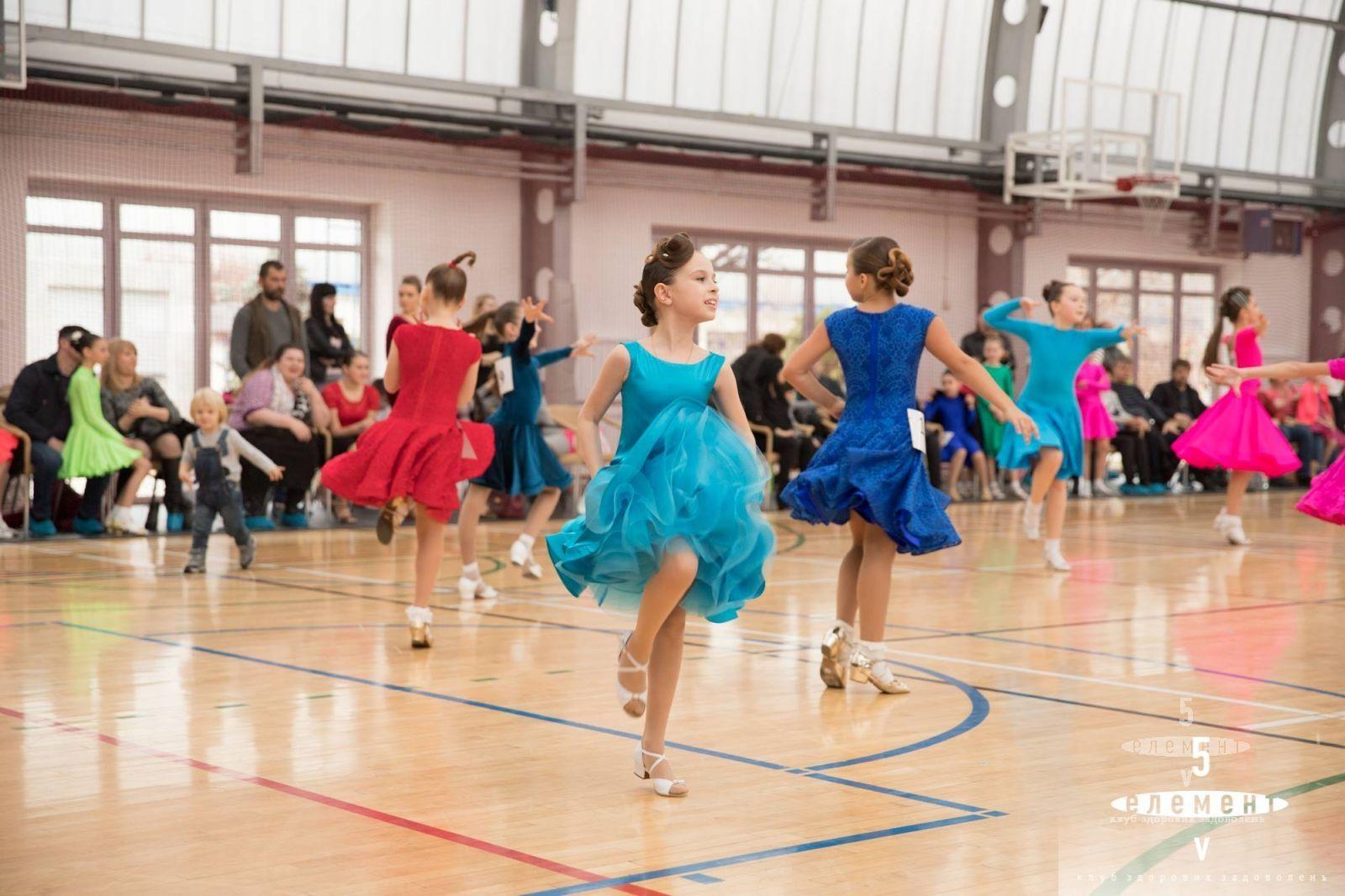 Открытые соревнования по бальным танцам— фитнес-клуб 5 элемент
