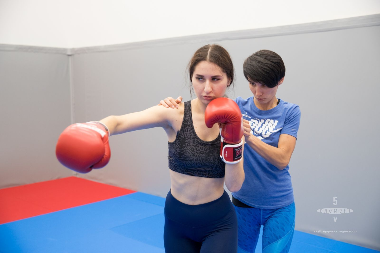 Самооборона для жінок— фітнес-клуб 5 елемент