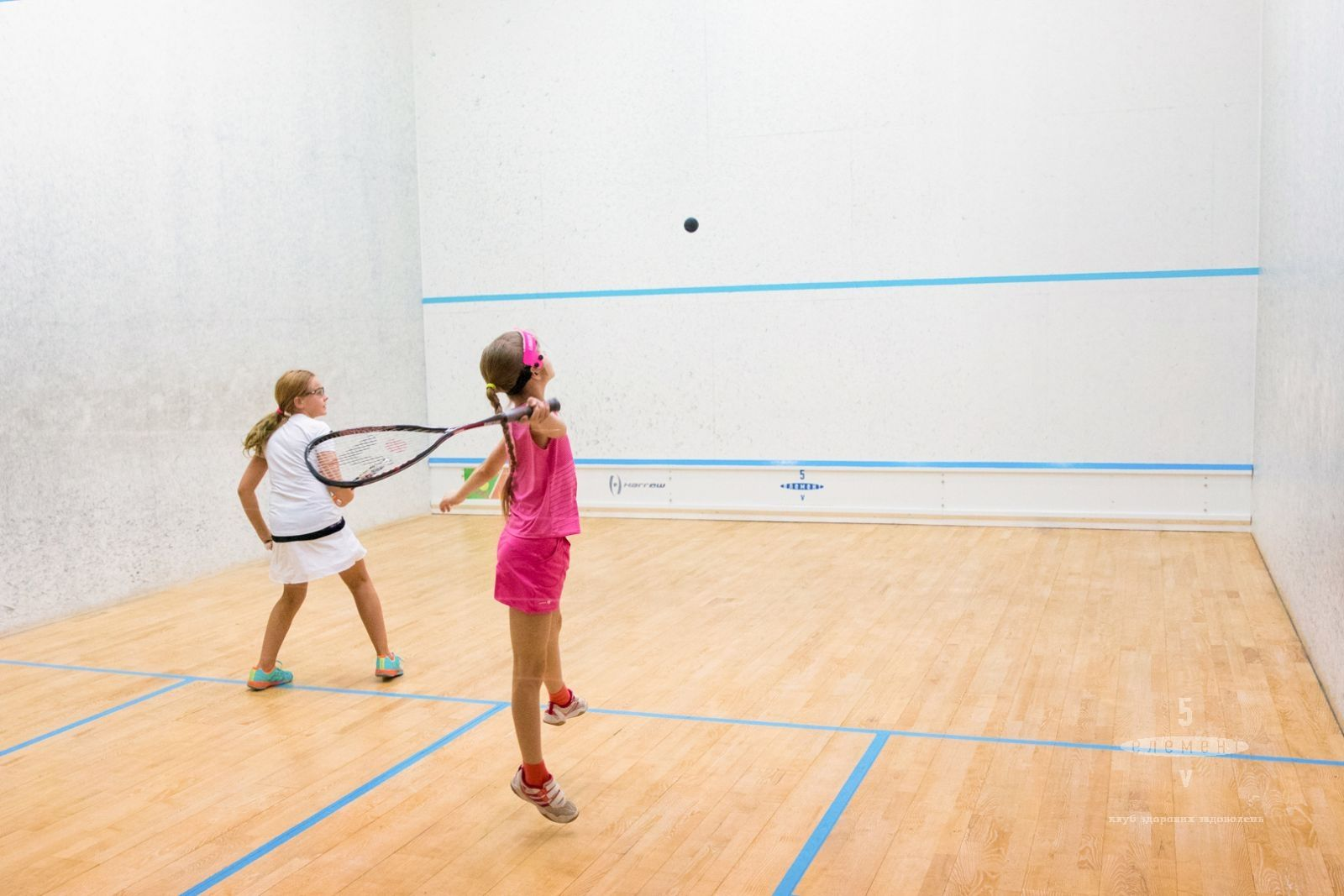 KIDS SQUASH SCHOOL— фитнес-клуб 5 элемент