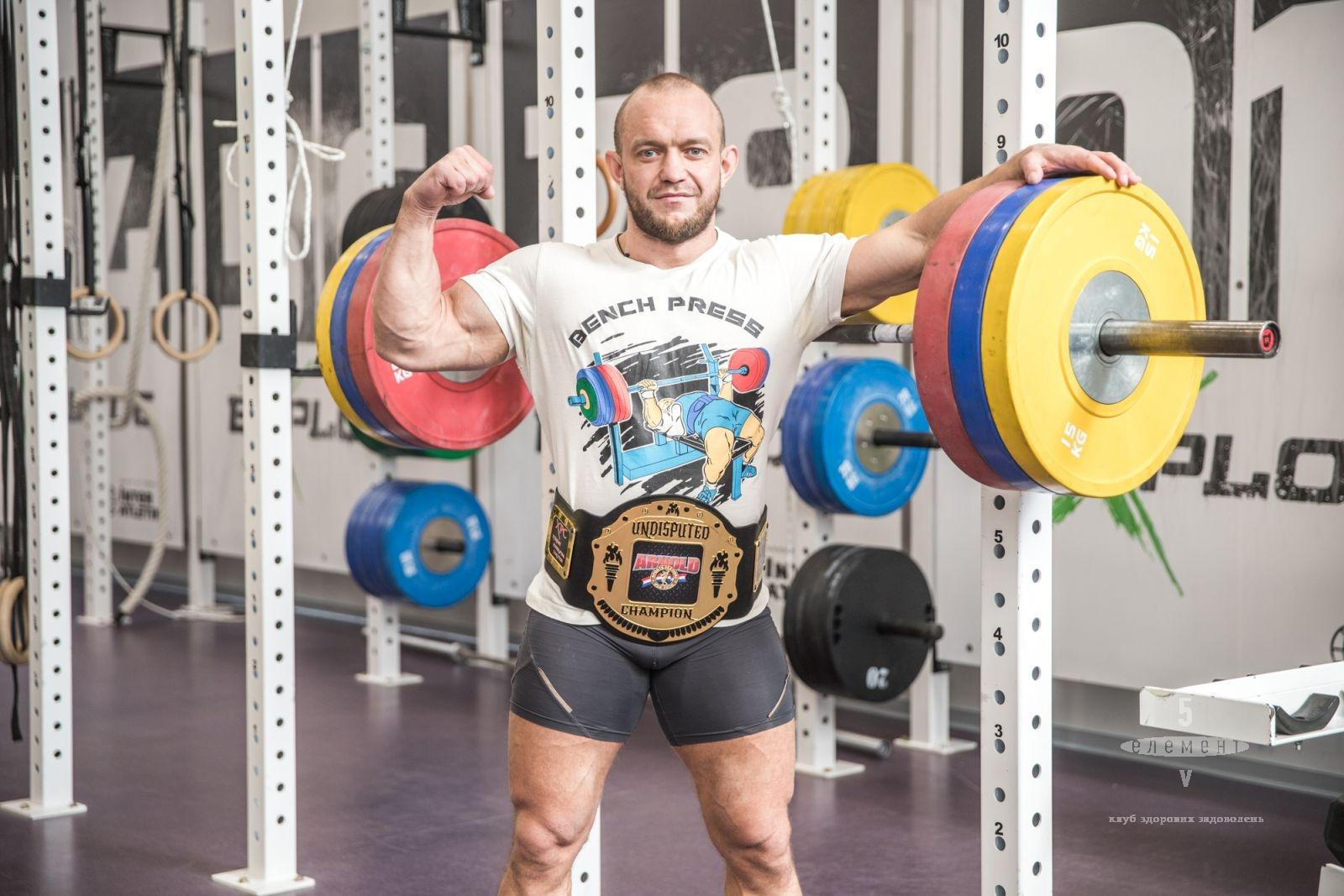 Абсолютный чемпион ARNOLD CLASSIC USA 2020— fitness club 5 element