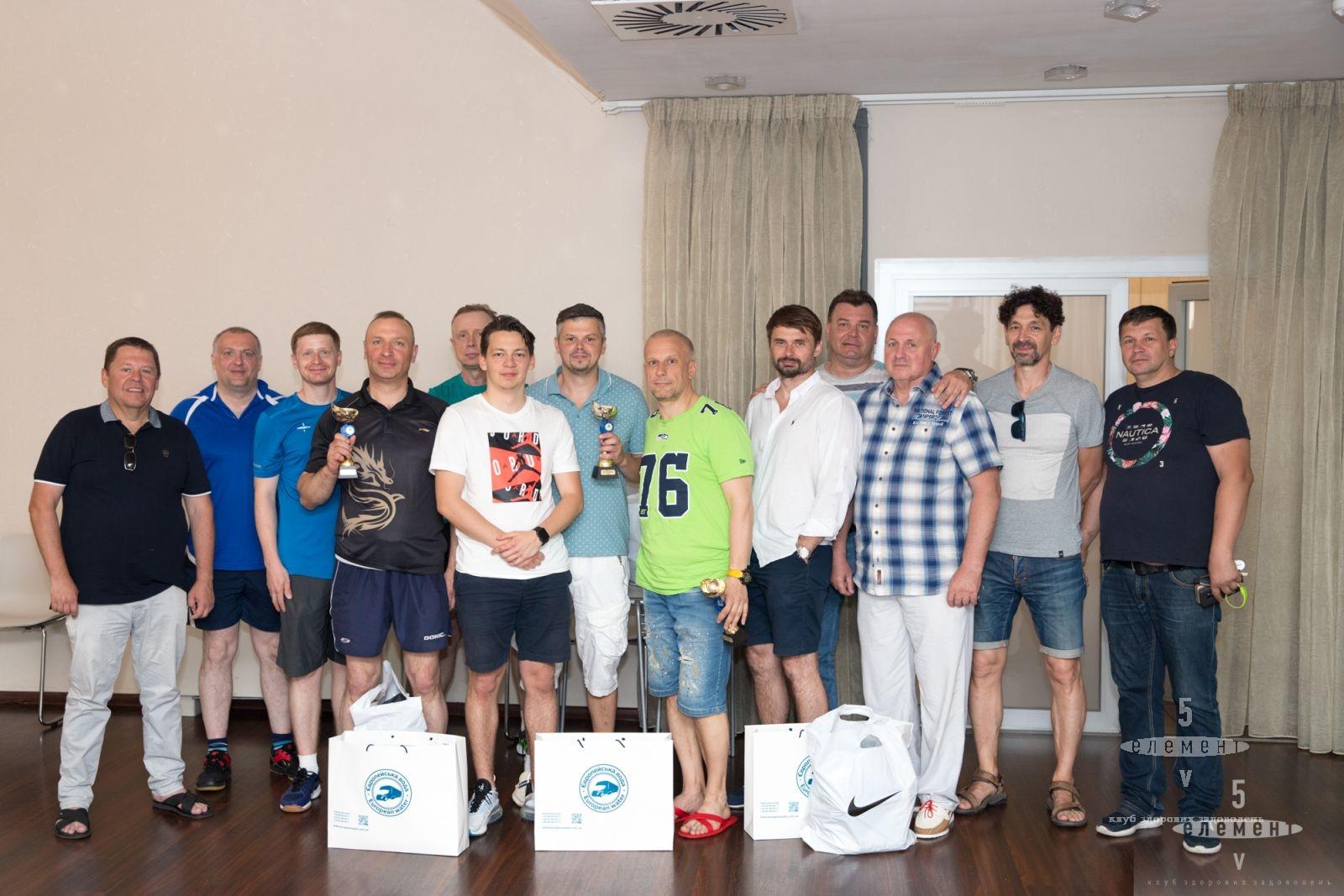 Второй тур  открытого клубного чемпионата по настольному теннису 2020 года.— fitness club 5 element