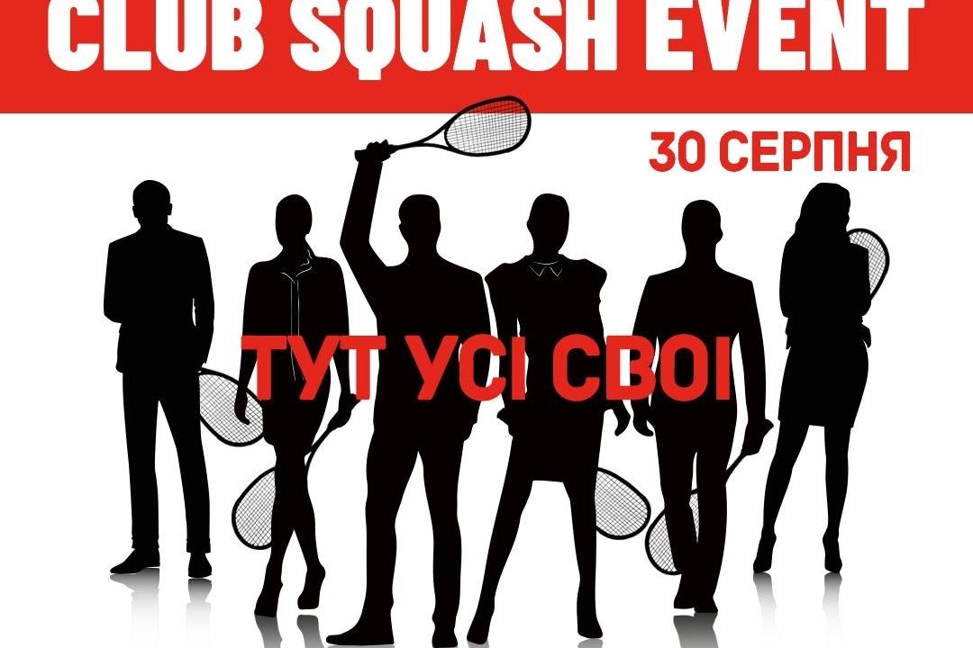 #CSE Club Squash Evevnt — fitness club 5 element