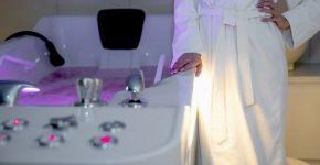 Гідромасажна ванна  – один із методів схуднення та розслаблення одночасно.— фітнес-клуб 5 елемент