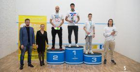 Третий открытый кубок Киева по сквошу 2020— фитнес-клуб 5 элемент