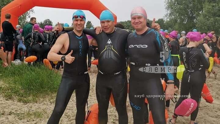 Феерический заплыв Десной длиной 6.5 км.— фитнес-клуб 5 элемент