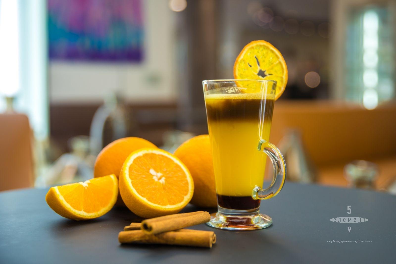 Бамбл кофе или американо-оранж — fitness club 5 element