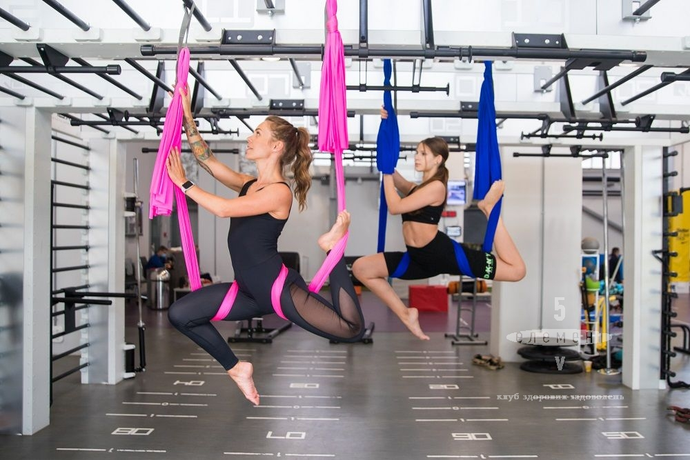 AEROSTRETCHING — фитнес-клуб 5 элемент